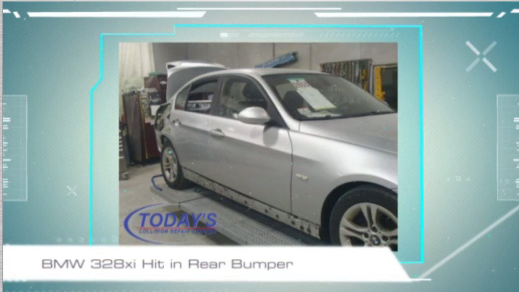 Bmw 328xi Quarter Panel Replacement Today S Collision