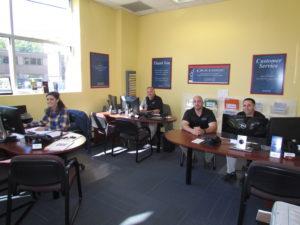 Malden CSR Team - Holly, Eric, Nick and Matt