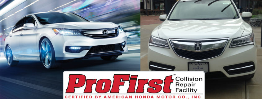 today 39 s collision receives the profirst designation from honda and acura today 39 s collision. Black Bedroom Furniture Sets. Home Design Ideas