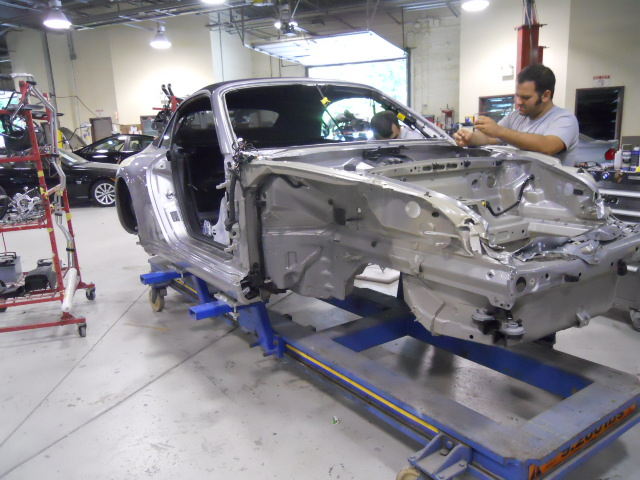 Collision Repair Services Todays Collision - Porsche collision repair